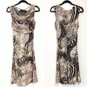 Yansi Fugel Animal Print Dress